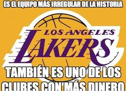 Enlace a ¿Los Angeles Lakers equipo irregular?