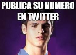 Enlace a A Álvaro Morata no le funciona su intento con twitter