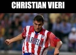 Enlace a Christian Vieri marcó 4 goles con el Atlético en un partido. ¿Te acuerdas?