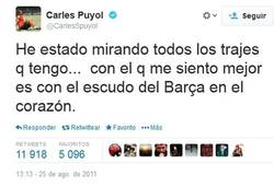 Enlace a El mejor tweet de Puyol