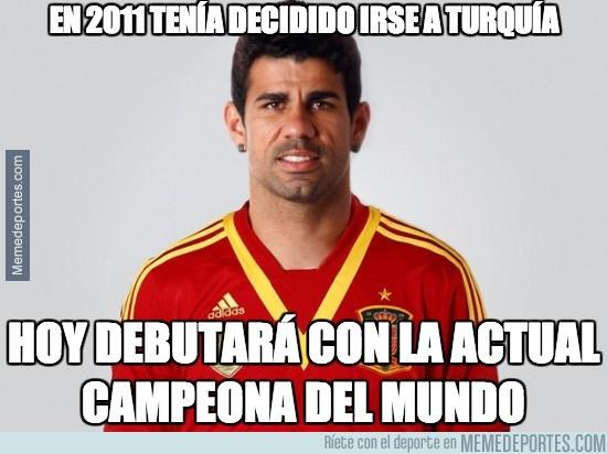 277261 - Diego Costa debuta con España