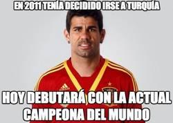 Enlace a Diego Costa debuta con España