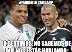 Enlace a Ronaldo y Zidane