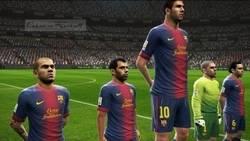 Enlace a Messi, el más alto del Barça. Sólo en el PRO
