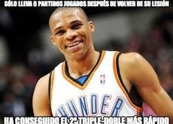 Enlace a Russell Westbrook, el 2º triple doble más rápido de la historia