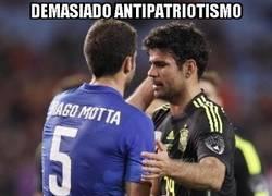 Enlace a Thiago Motta y Diego Costa