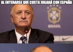 Enlace a El debut de Diego Costa con España visto por Scolari