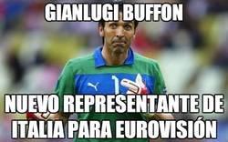 Enlace a Buena cantada de Gianlugi Buffon en el gol de Pedro