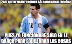 Enlace a ¿Por qué Messi no funciona con Argentina?