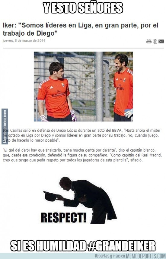 278224 - La humildad de Casillas