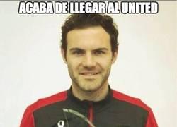 Enlace a Mata, jugador del mes en el Manchester United
