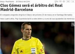 Enlace a Clos Gómez arbitrará el Madrid-Barça, en la nevera en 3, 2, 1