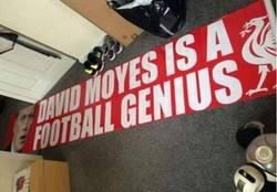 Enlace a Los fans del Liverpool, amantes del troleo a Moyes