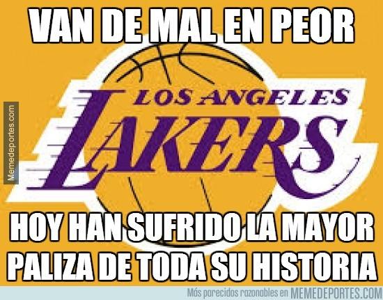 278514 - Los Lakers van de mal en peor