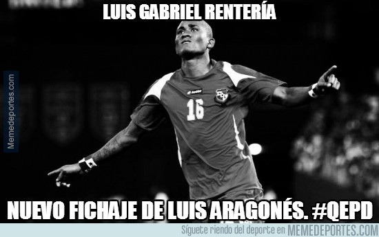 278651 - Luis Gabriel Rentería DEP