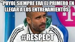 Enlace a Puyol y Guardiola