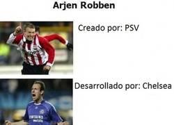 Enlace a La evolución de Arjen Robben