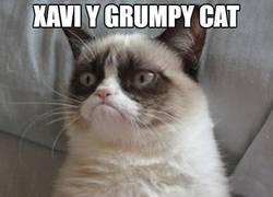 Enlace a Xavi y Grumpy cat