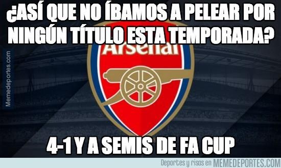 278958 - El Arsenal pasa a semifinales de la FA Cup