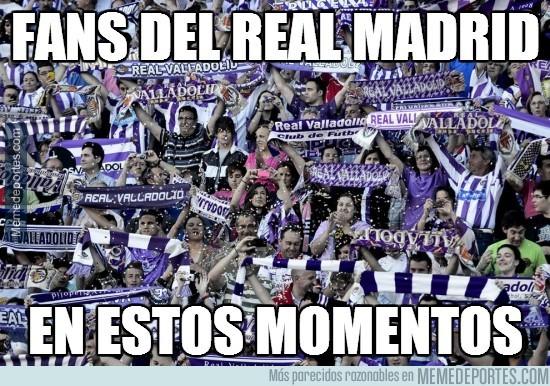 278993 - Fans del Real Madrid en estos momentos