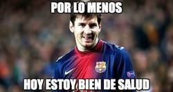 Enlace a La salud de Messi es lo primero