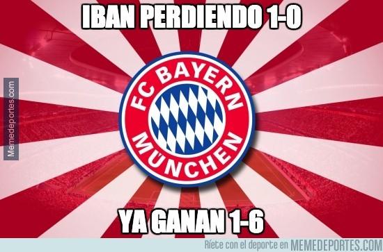279050 - El Bayern de Munich empezó perdiendo pero...