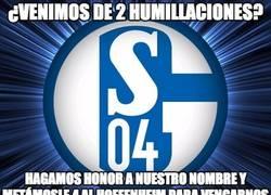Enlace a Schalke 04 haciendo gala a su nombre