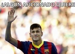 Enlace a Neymar ha estado hoy generoso