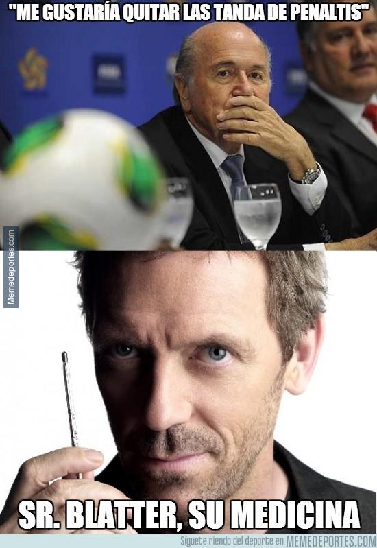279166 - Blatter quiere quitar las tandas de penaltis