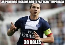 Enlace a Ibrahimovic lleva 38 goles esta temporada, los mismos que Cristiano