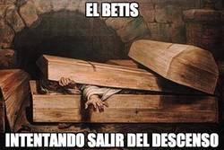 Enlace a El Betis intentando salir del descenso
