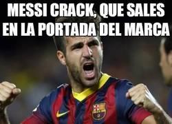 Enlace a Cuando Messi sale en la portada del Barça... algo malo pasa