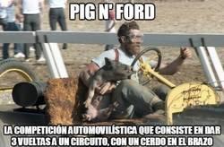 Enlace a Pig n'Ford, el WTF del día