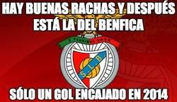 Enlace a La impresionante racha del Benfica