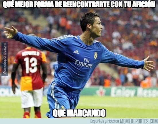 279968 - Cristiano vuelve marcando al Bernabeu tras su sanción