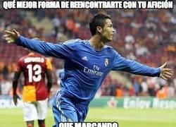 Enlace a Cristiano vuelve marcando al Bernabeu tras su sanción