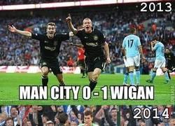 Enlace a El Manchester City y su maldición contra el Wigan