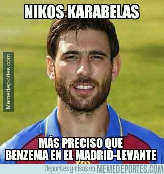 280163 - Nikos Karabelas, más preciso que Benzema esta noche