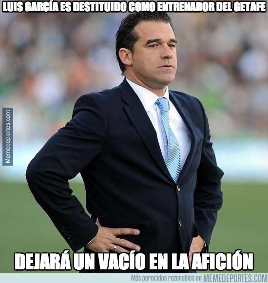 280394 - Luis García es destituido como entrenador del Getafe