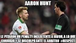 Enlace a Aún existe el fairplay, Aaron Hunt grande