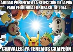 Enlace a Adidas presenta a la selección de Japón para el mundial de Brasil de 2014