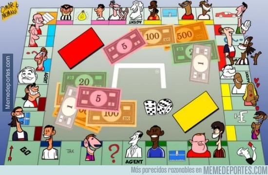 280781 - El monopoly de los Jugadores mejor pagados