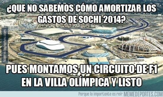 280820 - 2x1 en Sochi: JJOO de invierno + Formula 1