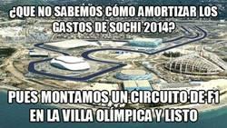 Enlace a 2x1 en Sochi: JJOO de invierno + Formula 1