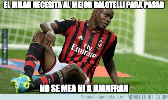 281024 - El Milan necesita al mejor Balotelli para pasar