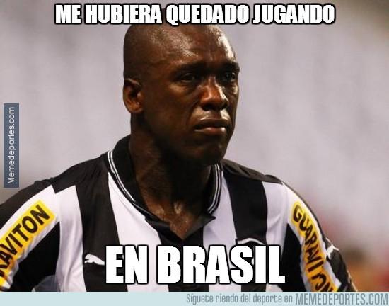 281105 - Me hubiera quedado jugando en Brasil...