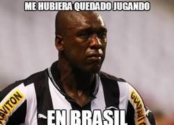Enlace a Me hubiera quedado jugando en Brasil...