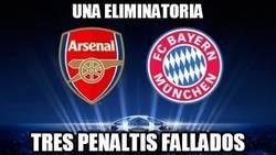 Enlace a Una eliminatoria, 3 penaltis fallados
