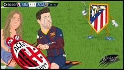 Enlace a Shakira y Piqué lloran tras la derrota de Milan