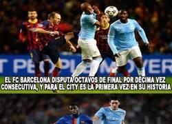 Enlace a Datos que no sabías del Barça-Manchester City